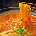 【赤からの極意その3】鍋のしめには、卵がふんわり「雑炊」、名古屋名物といえば「きしめん」、みんな大好き「ラーメン」、とろーりチーズの「リゾット」をご用意♪その日の気分で〆を選べば赤からスープを最後の一滴まで楽しめます!
