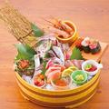 料理メニュー写真源ぺい 刺身5種盛り(二名様)