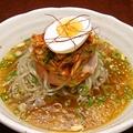 料理メニュー写真温麺/牛すじラーメン