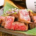 鮮魚はもちろん、厳選したお肉もおいしく提供!