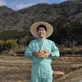 契約農場から直送の新鮮な玉子を使用