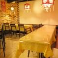 会社宴会にピッタリのテーブル席もご用意☆貸切は25名~最大40名までご利用可能!各種ご宴会のご予約をお待ちしております!中国のカクテルや本場のお酒をご用意している令華。本場の雰囲気と本場の味を知ることで令華が人気の理由が見えてきます☆ここでは国際交流もできてしまうかも♪あなただけの令華をお愉しみください