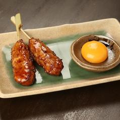 料理メニュー写真みつせ鶏つくね/つくねチーズ串
