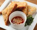 料理メニュー写真プリプリ海老トースト