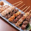 料理メニュー写真いわい鶏串焼き盛り【6本】