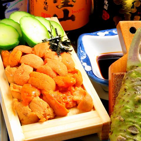 その日店主が目利きして仕入れた新鮮な魚介類を贅沢に利用したお料理をご賞味下さい♪