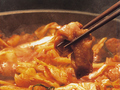 料理メニュー写真春川タッカルビ(鶏肉と野菜の鉄板焼き)