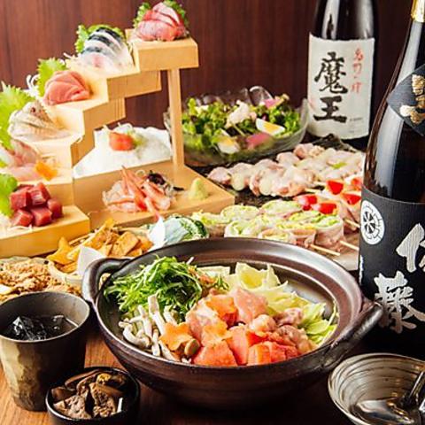 焼き鳥・鮮魚・野菜が愉しめる「炭火串焼と旬鮮料理の店」!各種宴会にご利用下さい!