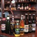 料理メニュー写真★ビール・リンゴのお酒