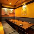 10~20名様用の多彩な掘りごたつ席個室が魅力。