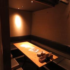大人気の半個室。早めに埋まってしまいますのでご予約はお早めにお願いいたします。