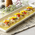 料理メニュー写真白身魚の塩麹レモングリル