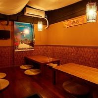 ≪掘り炬燵個室席≫ご宴会にピッタリのプライベート空間