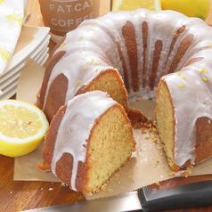 料理メニュー写真レモンケーキ