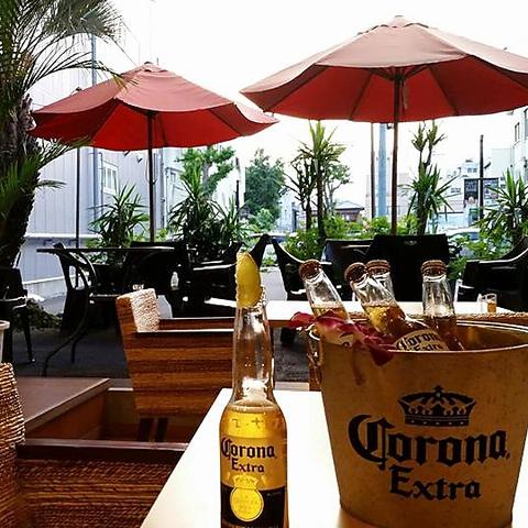 桐生にいながらハワイアンの開放的なリゾート空間で、ランチ・ディナー・お酒を♪