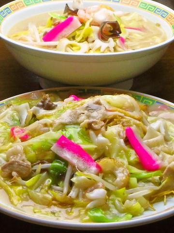 長崎県産品100%で作る、長崎名物ちゃんぽんや皿うどんが食べられるお店。