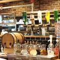 飲み放題メニューも種類豊富にご用意致しております!アルコールも飲めるオトナドリンクバーでは、ビールやワインはもちろん、オリジナルカクテルも可能◎