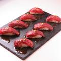 料理メニュー写真炙り寿司