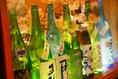 厳選した地酒は45種以上をご用意。お気に入りにきっと出会えます。