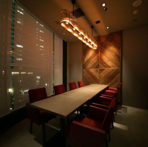 ご接待など、プライベートなお食事にぴったりな個室