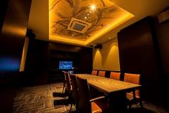 【VIPルーム】完全個室、カラオケ付きのVIPルームはご予約にて承ります。※室料¥5,000がかかります。