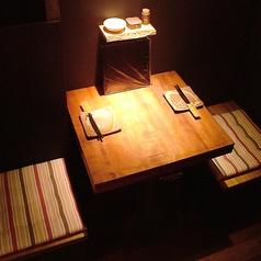 カップルにもおすすめのお席となっております♪誕生日・記念日サービスありもご用意しております!お気軽にご相談くださいませ。