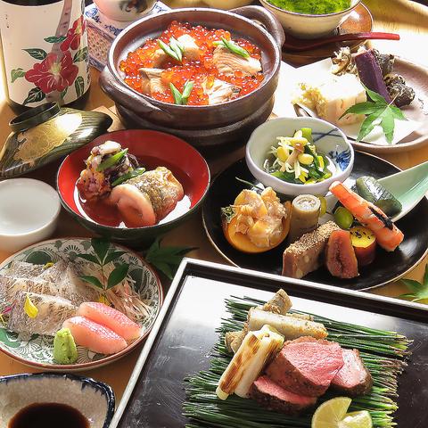 【6500円/お料理のみ】当店お薦めの大人気コース*お料理10品