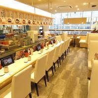 ニューオープンの回転寿司店