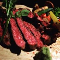 炭火焼国産牛ステーキ