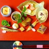 【ランチ…前菜盛り合わせ】旬の食材を使用した贅沢な前菜盛り合わせ。丁寧な盛付で、彩り鮮やかな前菜をご用意