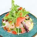 料理メニュー写真豪華カリブのサラダ 特製ドレッシング