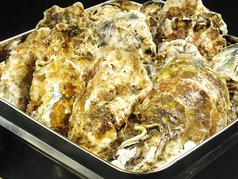 料理メニュー写真根室湾中産 カキのガンガン蒸し