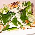 料理メニュー写真新鮮シーザーサラダ
