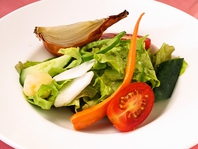 自家農園で作る野菜