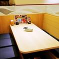 ■【接待や会食にも】4名様までご利用いただける、落ち着いた雰囲気のBOX席もご用意。禁煙席で接待などにも最適ですので、大宮駅周辺の接待や会食が可能な和食個室居酒屋は当店へ!