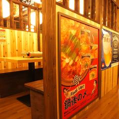 京成船橋で女子会に◎3・4名様用のテーブル席有り♪周りを気にせずくつろぎながらお楽しみ頂けます! ※写真は系列店のものです