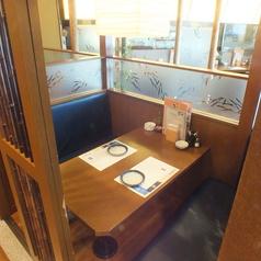 【ボックス席:最大4名様×1、最大3名様×1】デート、ご友人とのお食事会にも◎
