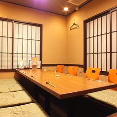 8名様まで対応のVIP個室は予約がお勧めです!周りにも気にせずゆったりとお過ごしください。