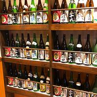 新潟の地酒 焼酎も豊富
