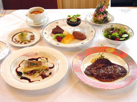 【ディナー】選べるプリフィックスディナー☆1700円(税込)