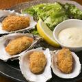 料理メニュー写真厚岸産牡蠣フライ(4個)