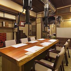 8~10名までOKの個室は接待や特別な記念日にもおすすめです。
