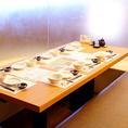 会社宴会や宴会・飲み会などにお使いいただけるテーブル席です。