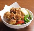 料理メニュー写真なんこつ唐揚げ・自家製鶏の唐揚げ・ごぼうの唐揚げ
