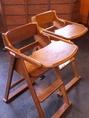 テーブル席で利用するお子様用の椅子です