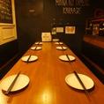 ■宴会向け席■8~10名様向けテーブル席♪嬉しいコンセント付き♪