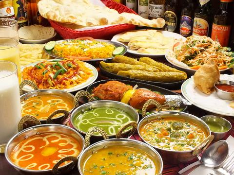 梅田でインド料理ならタージマハルエベレストへ!本場のシェフが作る料理は絶品。