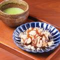 料理メニュー写真わらびもち・お抹茶セット