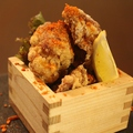 料理メニュー写真鶏の唐揚げ 油淋鶏ソース/しび辛/自家製タルタル