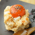 料理メニュー写真黄色いポテトサラダ